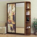 шкаф-купе 1500, Стандарт, ФМП/зеркало - 831